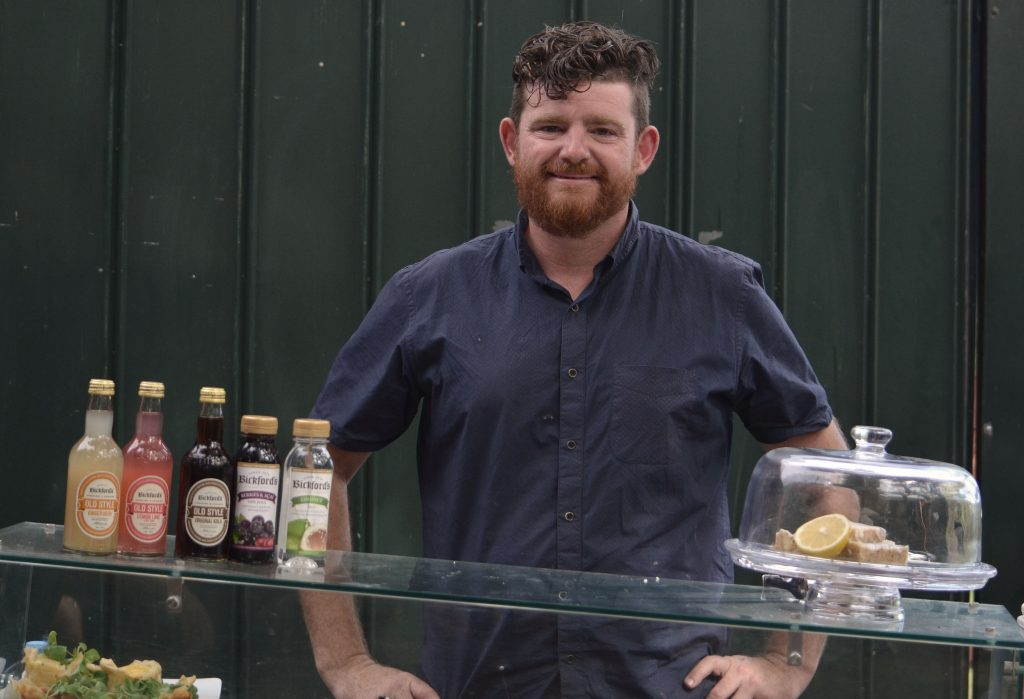Owner of Food Man Chew Mark Menzies