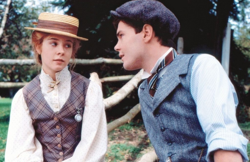 Megan Follows and Jonathan Crombie in Anne of Avonlea